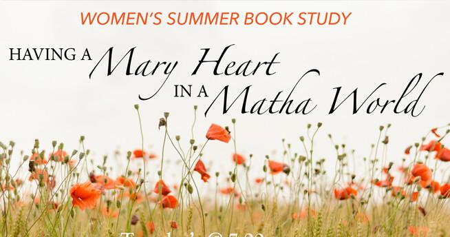 Women's Summer Book Study