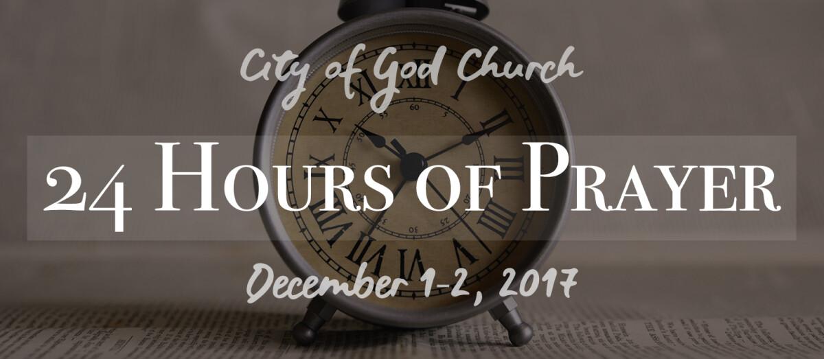 24 Hours of Prayer