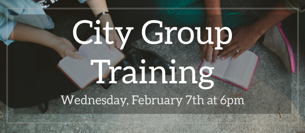 City Group Training