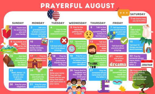 Prayerful August source Mighty Oak LLC