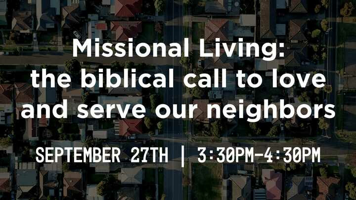 Local Missions Meeting